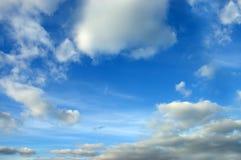 宽射击的天空 库存照片