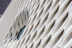 宽广的博物馆的墙壁在洛杉矶,加利福尼亚 图库摄影