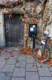 宽敞的大街,牛津,英国, 2016年12月04日:牛津 免版税库存图片
