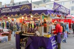 宽敞的大街,牛津,英国, 2016年11月27日:Baileys巧克力 库存照片
