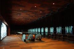 宽敞的房间在博物馆 库存图片