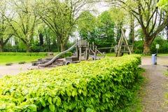宽敞的自然公园 库存图片