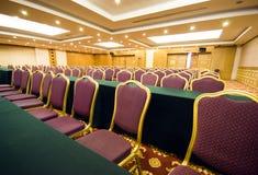 宽敞豪华的会议室 库存照片