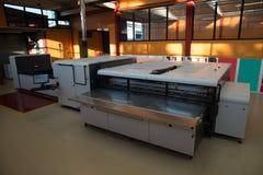 宽数字式格式打印机打印 免版税图库摄影