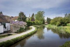 宽松村庄,肯特,英国 图库摄影