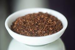 宽松Honeybush茶(独眼畸形Intermedia茶) 免版税库存照片