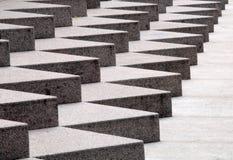 宽楼梯 免版税库存图片