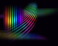 宽背景的光谱 库存图片