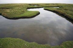 宽角度的水 图库摄影