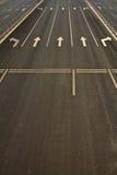 宽详述路街道符号业务量 免版税库存图片