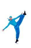 宽长裤的舞蹈家 图库摄影