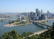 宾夕法尼亚匹兹堡 免版税库存照片