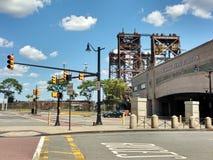 宾夕法尼亚驻地,纽瓦克Penn驻地, NJ,美国 免版税库存图片