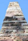 宾州州立大学纪念碑 图库摄影