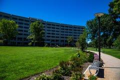 宾州州立大学赫尔希医疗中心走道 免版税库存照片