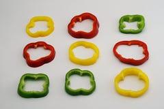 宾果游戏甜椒1 库存照片