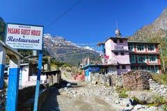 宾馆在尼泊尔 库存图片