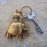 宾馆房间钥匙 图库摄影