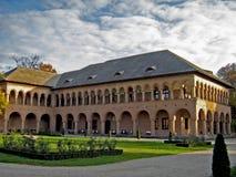 宾馆mogosoaia宫殿 免版税库存图片