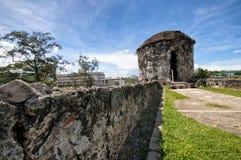 宿务堡垒pedro ・菲律宾圣 免版税库存照片