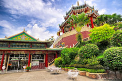 宿务市菲律宾道士寺庙 库存照片