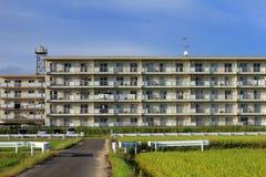 宿舍在日本的乡下 库存照片