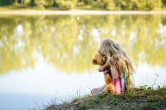 寂寞和童年 免版税图库摄影