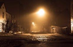 寂寞在晚上 库存照片