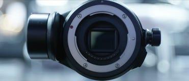 寄生虫飞机照相机正面图  库存图片