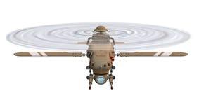 寄生虫直升机 向量例证
