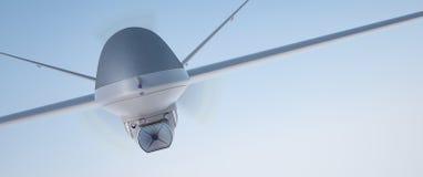 寄生虫UAV 库存图片
