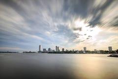 密尔沃基地平线,威斯康辛,美国 免版税图库摄影
