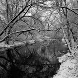 密尔沃基河 库存图片