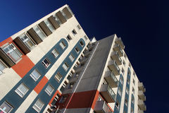 密度高住房 免版税库存照片