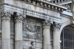 密执安中央火车站,底特律 免版税库存图片