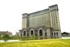 密执安中央驻地在底特律,美国 免版税库存图片