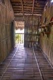 密林小屋屋子的复制品 库存图片