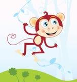 密林猴子 免版税图库摄影