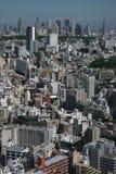 密林都市的东京 库存图片