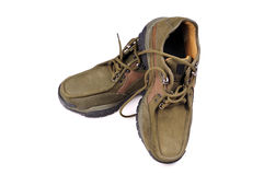密林鞋子 免版税库存照片