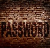 密码保护 库存图片