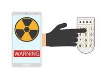 密码安全概念 免版税库存图片