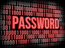 密码安全 免版税图库摄影