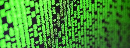 密码选择宏指令在办公计算机的显示器的 乱砍一位个人数据老板的保护的概念 图库摄影