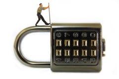 密码锁 库存照片