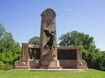 密苏里共和国纪念碑南北战争的精神 免版税库存图片