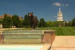 密苏里大学,哥伦比亚,美国 库存图片