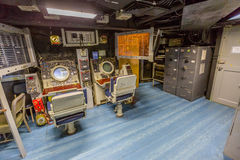 密苏里战舰手术室 免版税库存照片