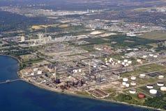 密西沙加工业天线 库存照片