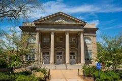 密西西比大学的弗尔顿教堂 免版税库存照片